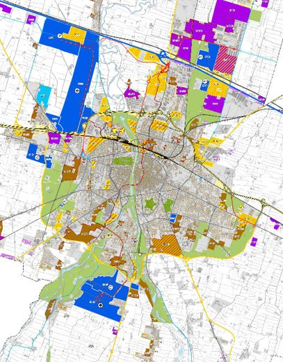 Municipality of Parma (PR) - Municipal Structure Plan - Region of Emilia Romagna (Italy)